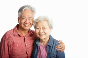 Frequently Asked Questions about seniors - Studio Shot Of Chinese Senior Couple