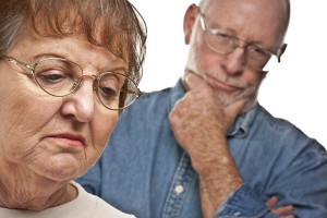 Frequently Asked Questions about seniors - Angry Senior Couple in a Terrible Argument