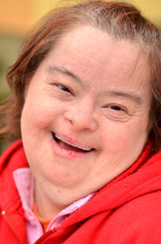 Adults with Disabilities - woman with Down's Syndrome