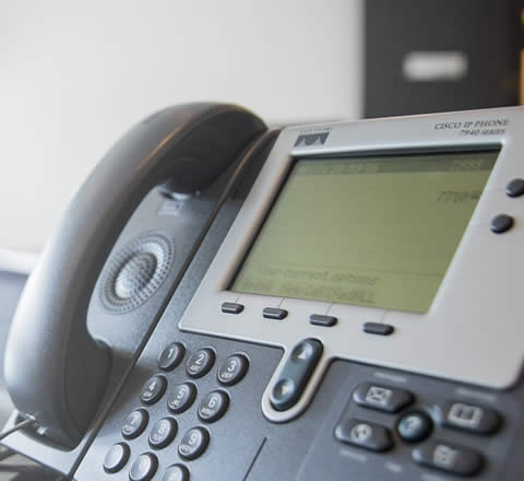 closeup of phone