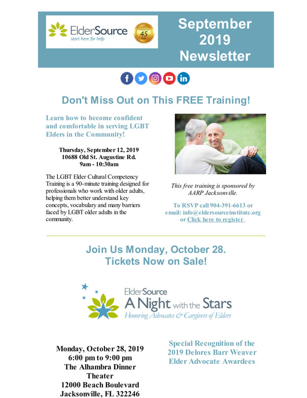 Sept 2019 Newsletter